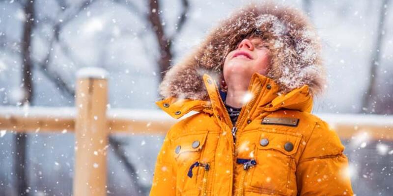 Çocukları kardan uzak tutmayın