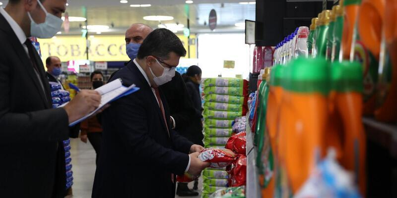 Fahiş fiyat artışı yapan 375 firmaya, 11 milyon 885 bin lira ceza