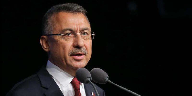"""Cumhurbaşkanı Yardımcısı Oktay'dan KKTC'ye """"geçmiş olsun"""" mesajı"""