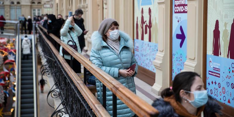 Rusya'da son 24 saatte 21 bin 513 vaka
