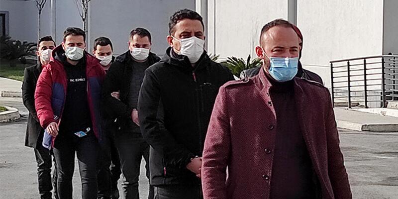 FETÖ operasyonunda KKTC'de gözaltına alınan şüpheliler Türkiye'ye getirildi