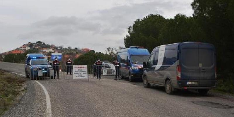 Balıkesir'de bir kırsal mahalle karantinaya alındı