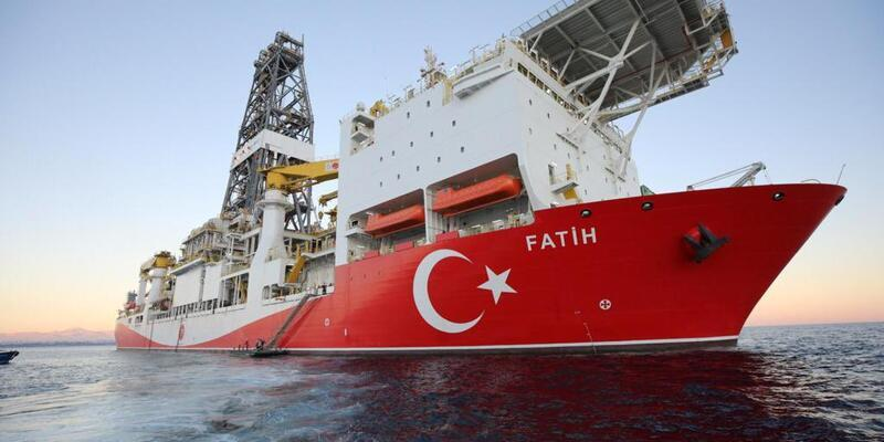 Son dakika... Fatih sondaj gemisi Türkali-2 kuyusuna ulaştı