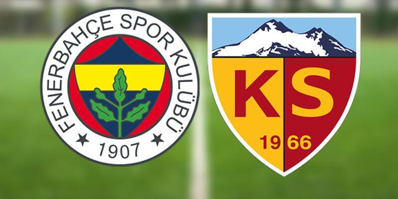 Mesut Özil ve Szalai oynayacak mı? FB Kayseri maçı ne zaman, saat kaçta? (Fenerbahçe Kayserispor)