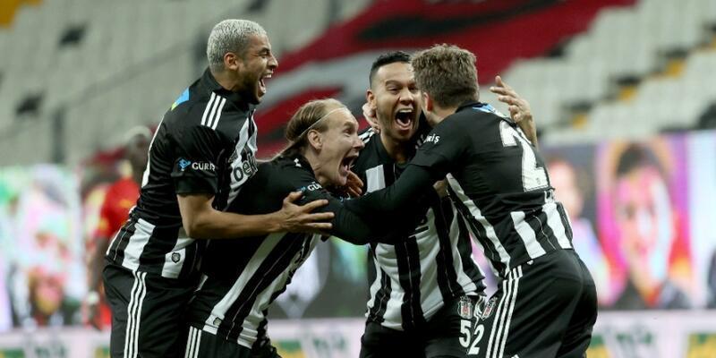 Beşiktaş yenilgiden geri döndü