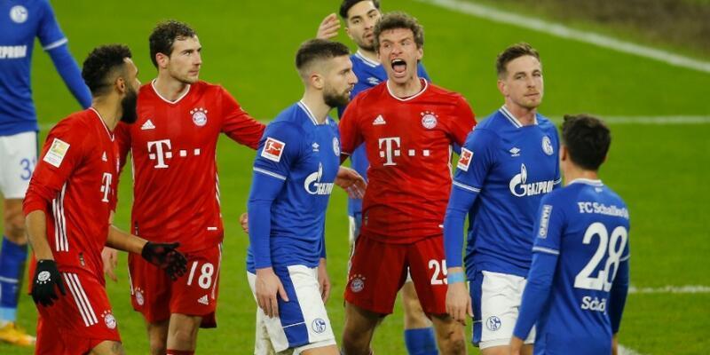 Bayern Münih Schalke'yi dağıttı