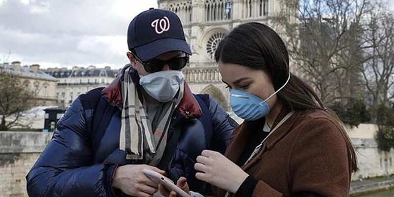Fransa'da son 24 saatte 172 kişi Kovid-19 nedeniyle öldü