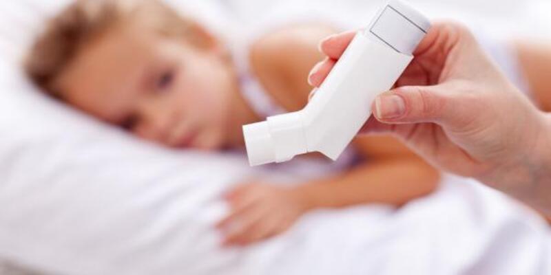 Her 10 çocuktan 1'i astım hastası