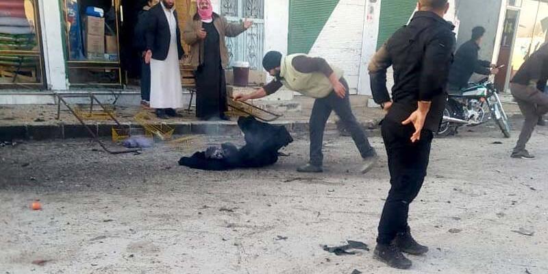 Tel Abyad'da canlı bomba saldırısı: 3 ölü, 2 yaralı