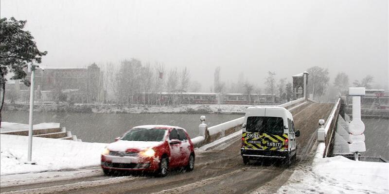 Trakya'ya turuncu kodla kar yağışı uyarısı