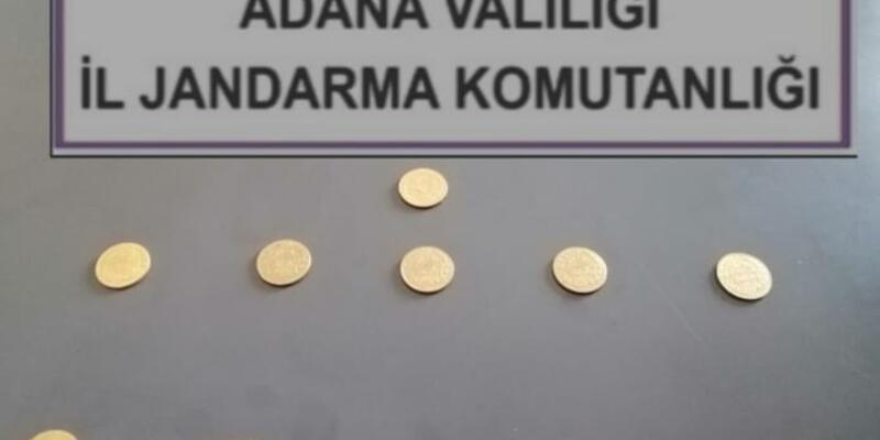 Adana'da tarihi eser operasyonu: Yakalandılar