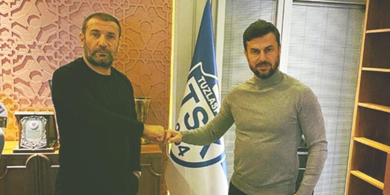Tuzlaspor Ali Tandoğan'ı açıkladı