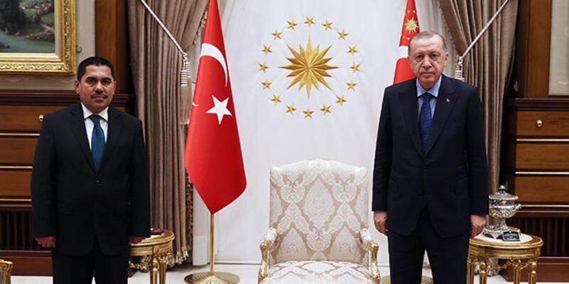 Cumhurbaşkanı Erdoğan, Afganistan Ulaştırma Bakanı Zeki'yi kabul etti