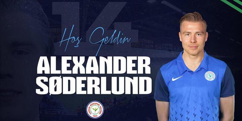 Son dakika... Alexander Soderlund Çaykur Rizespor'da