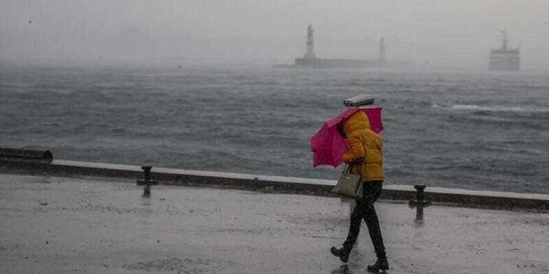 30 Ocak 2021: Meteoroloji'den kuvvetli rüzgar ve fırtına uyarısı