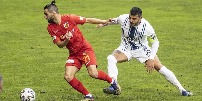 Kasımpaşa - Kayserispor: 0-1