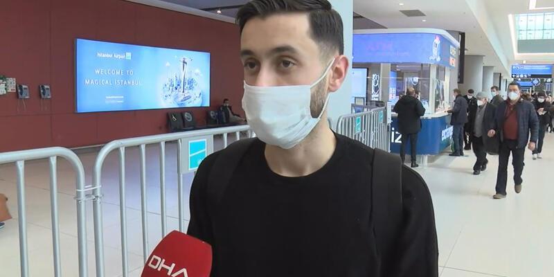 Son dakika... Trabzonspor'un yeni transferi Yunus Mallı Türkiye'ye geldi