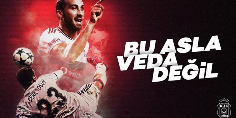 Son dakika... Cenk Tosun'dan Beşiktaş paylaşımı!