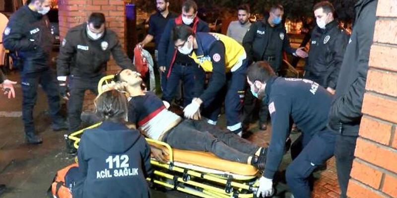 Zeytinburnu'nda bir kişi gasp edilirken bıçaklandı