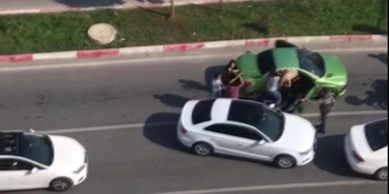 Trafikte 3 kadına sopayla saldırmıştı: Cezası belli oldu