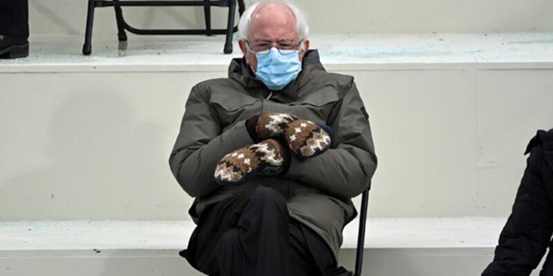 Sosyal medyada viral olan Sanders'ın eldivenleri seri üretilecek