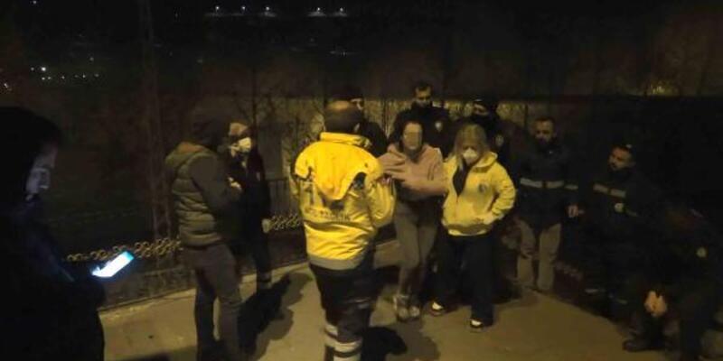 Genç kızın intihar girişimini polis engelledi
