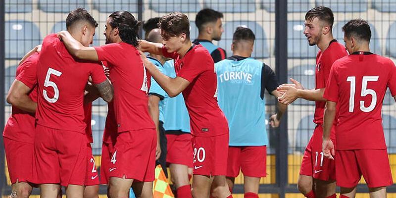 Son dakika... Ümit Milli Futbol Takımı'nın fikstürü açıklandı