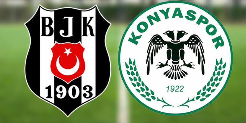 Beşiktaş Konyaspor maçı canlı yayın ne zaman, saat kaçta? BJK Konya muhtemel 11'ler