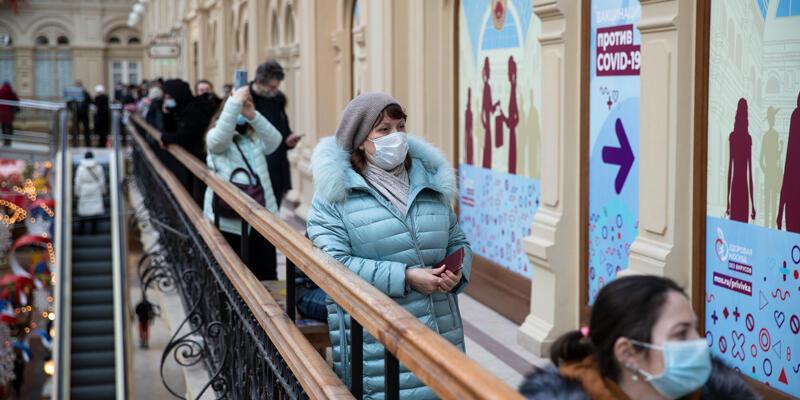 Rusya'da son 24 saatte 16 bin 48 koronavirüs vakası