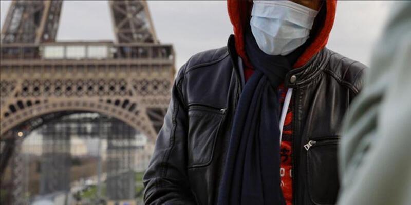 Fransa'da son 24 saatte 19 bin 715 koronavirüs vakası tespit edildi