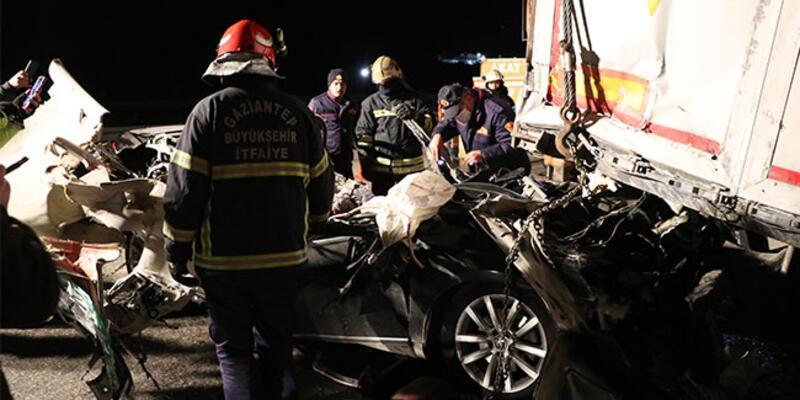 Gaziantep'te çok feci kaza: Ölüler var