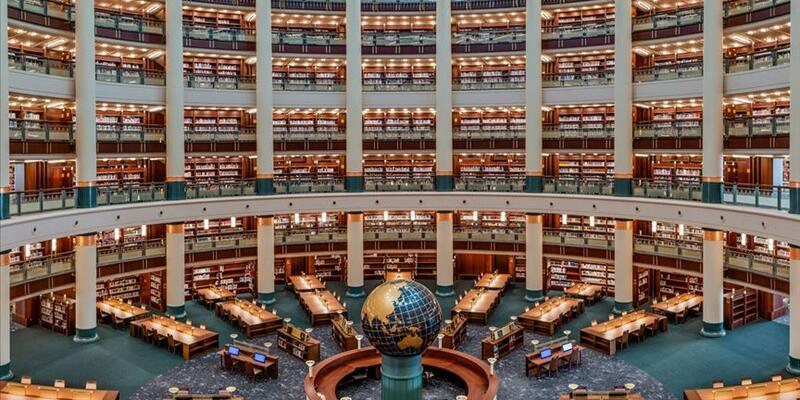 Cumhurbaşkanlığı Millet Kütüphanesi salgına rağmen öğrencilerin ilgi odağı oldu