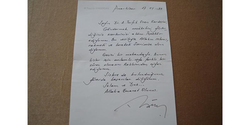 Cumhurbaşkanı Erdoğan'ın cezaevinden yazdığı mektup, 22 yıl sonra ortaya çıktı