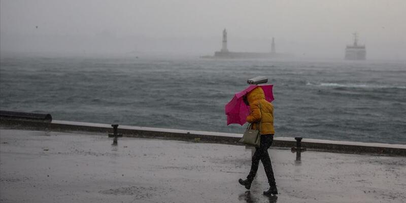 Meteoroloji'den sağanak, sel, yıldırım, fırtına uyarısı