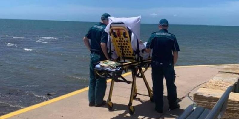 Avustralya'da sağlık çalışanları ölmek üzere olan hastanın son isteğini yerine getirdi