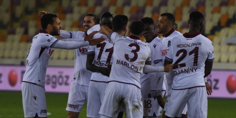 Trabzonspor Malatya'da kazandı