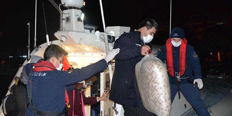 İzmir'de 123 sığınmacı kurtarıldı