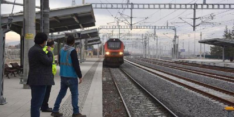 Konya-Karaman hızlı tren test sürüşlerine başlandı