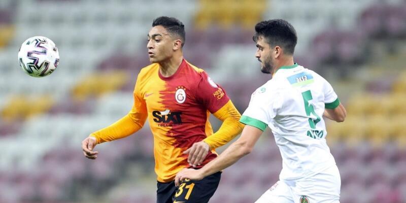 Alanyaspor Galatasaray'ı eledi