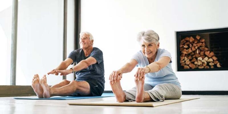 65 yaş üstü vatandaşlar için egzersiz önerisi
