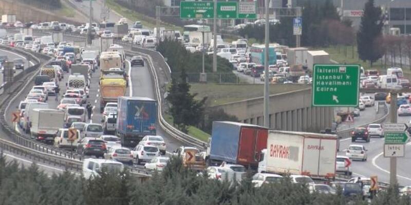 İstanbul'da trafik yüzde 60'a ulaştı