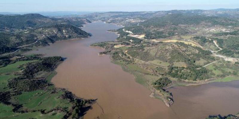 Çanakkale'nin içme suyunu karşılayan barajın yarısından fazlası doldu