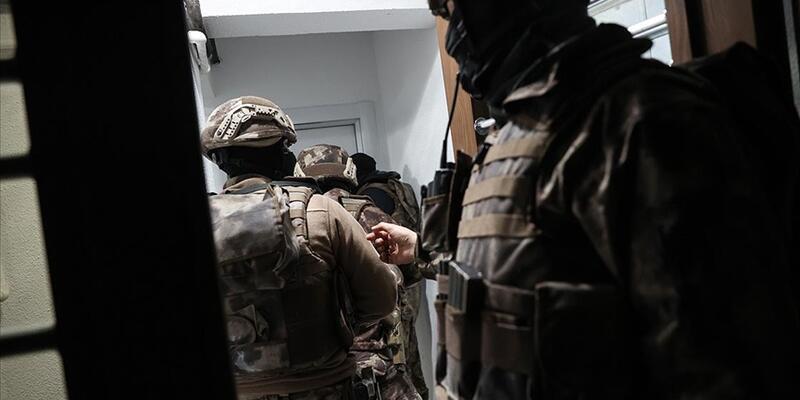Terör örgütüne destek veren 10 şüpheli hakkında gözaltı kararı
