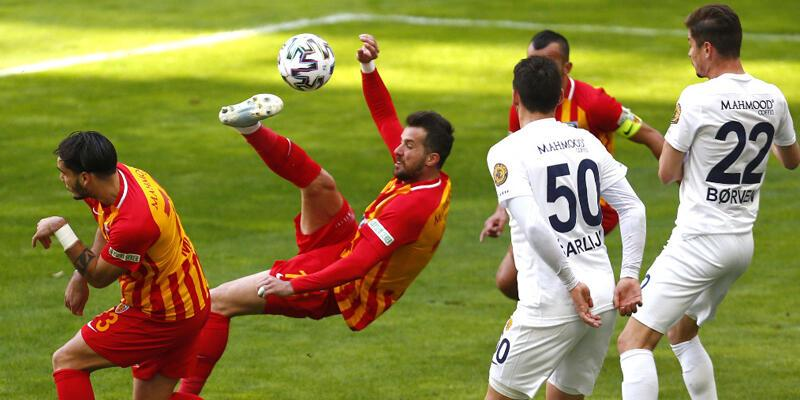 Kayserispor - Ankaragücü: 0-0