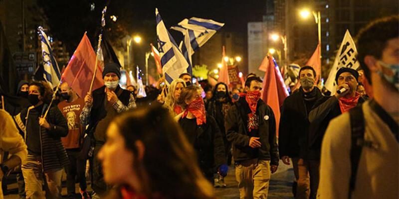 İsrail'de Netanyahu'ya tepkiler sürüyor!