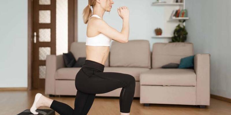 Evde egzersiz yaparak kilo verebilirsiniz