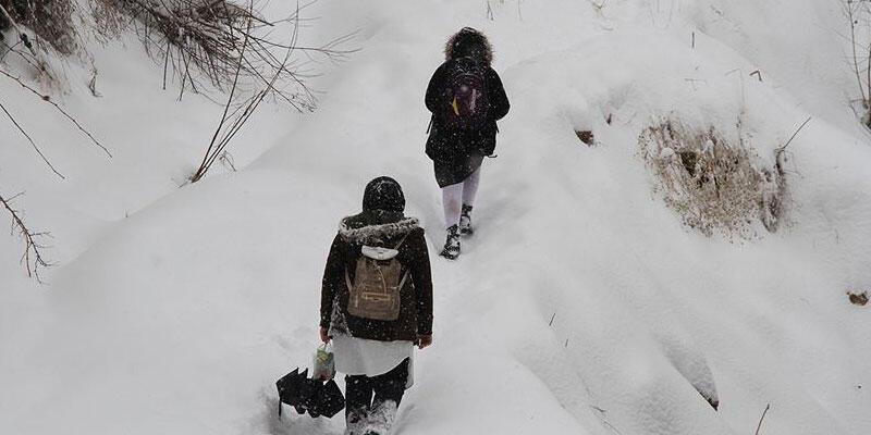 Son dakika haberi: Yedi ilde eğitime kar engeli