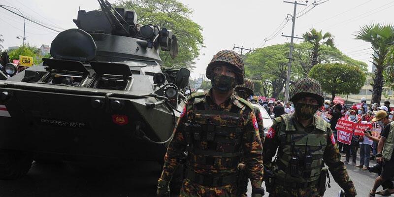 BM, Myanmar ordusunu uyardı: Dünya sizi izliyor