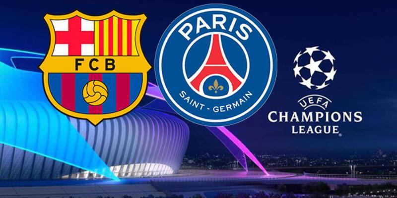 Barcelona PSG maçı hangi kanalda, ne zaman? Barça PSG Şampiyonlar Ligi maçı canlı yayın saat kaçta?