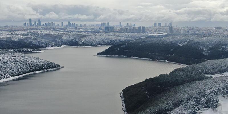 İstanbul'a su sağlayan barajlardaki doluluk oranı artıyor